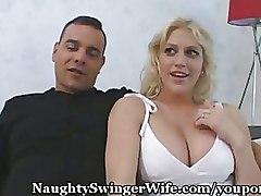 Big Tits Cuckold Pussy Licking