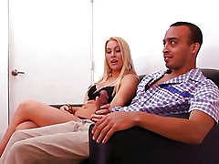 Facials Blonde Blonde Blowjob Caucasian Couple Cum Shot Facial Office Oral Sex Shaved Vaginal Sex Jamie Applegate