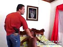 busty tits ebony fucking blowjobs hardcore facial black