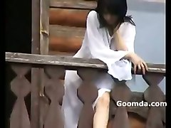 alena flashing susdal balcony show lesbians hot