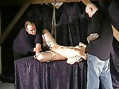 BDSM Bondage Maledom blindfold blowjob bound domination tied up