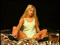 Teens Masturbation Blonde Lingerie Blonde Caucasian Lingerie Masturbation Piercings Shaved Solo Girl Teen Toys Vaginal Masturbation