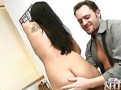 Big Tits Hardcore Rachel Starr Secretaries cumshot facial oral secretary blowjob