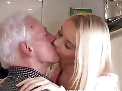 Kitchen Old Farts blonde teen