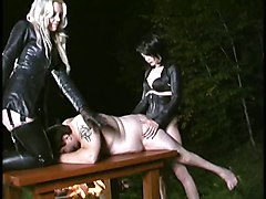 Femdoms Strapon Fuck Slave OutsideOther Fetish Extreme Public   Out Door