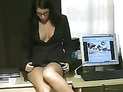 Office Pussy Licking Secretaries