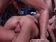 anal blowjob redhead doublepenetration pussyfucking gangbang