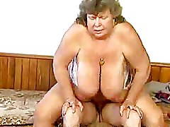 Big Tits Granny hardcore older