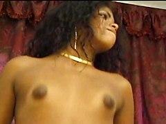 Black Brazilian Shemale Kelly  Interracial Pleasure