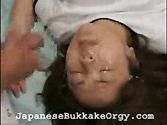 Asian Cumshot Group Japanese Gangbang Asian Brunette Bukkake Cum Shot Gangbang Japanese School