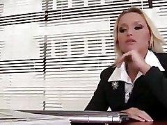 Fisting Lesbian Office