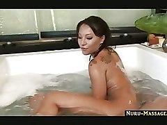 Asian Handjobs Massage blowjob cumshot handjob jacuzzi nuru sliding swallow