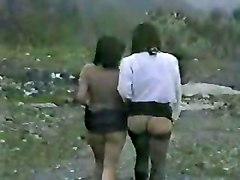 Italian Sluts Having Fun In Country Side