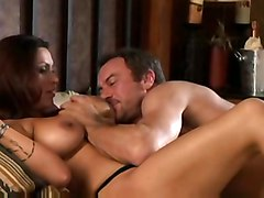 cumshot facial blowjob brunette swallow hotel nikita denise