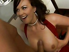 Big Tits Milf Stockings Titjob