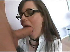 anal stockings blowjob brunette glasses asslicking pussytomouth bigass pussyfucking