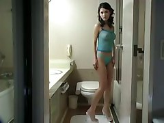 japanese asian hairy pussy maria ozawa bathroom