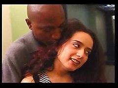 Black and Ebony Brunettes Hardcore