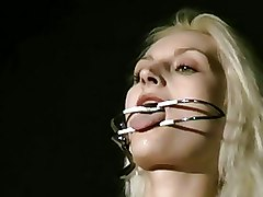 BDSM Bondage Needle Torture crying extreme bdsm needles pain pierced torture tears tit torture uk fetish