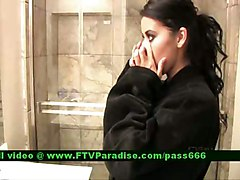 Alexa Loren From Ftv Girls, Busty Brunette At Shower
