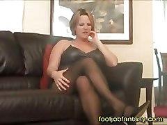 FFM Pantyhose Trampling