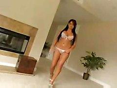 big tits pornstar blowjob brunette busty eva angelina