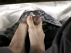 Cumshots Foot Fetish POV