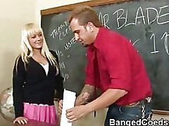 Big Cock Blondes Briana Blair School big tit coed pornstar schoolgirl