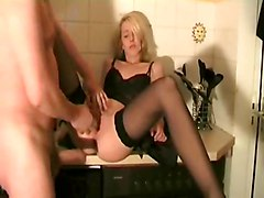 stockings blonde amateur pussyfucking realamateur