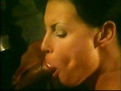 anal cumshot interracial blowjob brunette