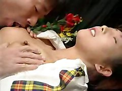 asian tight teasing schoolgirl brunette panties pussy ass fingering rubbing pussylicking ass licking blowjob handjob tattoo cumshot close up masturbation teen hardcore small tits doggystyle