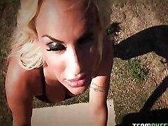 Big Tits MILF Blonde Creampie Big Tits Blonde Blowjob Caucasian Couple Cream Pie MILF Oral Sex Pornstar Shaved Vaginal Sex Holly Halston