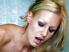 Anal Blonde Anal Sex Bathroom Blonde Blowjob Caucasian Couple Cum Shot Oral Sex Shaved Vaginal Sex