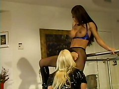 Lesbian Anal Interracial Blonde Anal Masturbation Black-haired Blonde Boots Caucasian Fetish Glamour Interracial Lesbian Licking Vagina Masturbation Oral Sex Shaved Stockings Toys Vaginal Masturbation