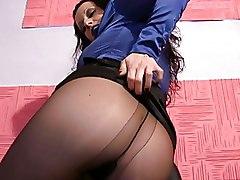 Milf Pantyhose Satin