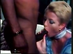 hardcore retro blonde lingerie interracial