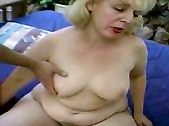 Gang Bang Granny Pussy Licking