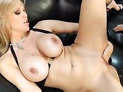 bikini blonde gorgeous milf oil tits
