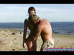 Babes Beach Blowjobs Doggy Style