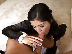 Doggy Style Fishnet Pantyhose anal brunette exotic maids