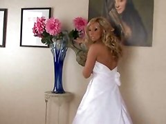 blowjob hardcore bride blonde stockings