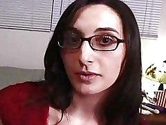 Big Tits Glasses Masturbation Milf