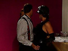 Blowjob Brunette Caucasian Couple Cum Shot Glamour Licking Vagina Oral Sex Stockings Vaginal Sex