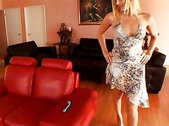 Lesbian MILF Blonde Lingerie Black-haired Blonde Brunette Caucasian High Heels Lesbian Lingerie MILF Masturbation Piercings Toys Vaginal Masturbation Darryl Hanah Emma Cummings Nicki Hunter