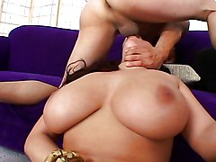 Big Tits Big Tits Blowjob Brunette Caucasian Couple Cum Shot Deepthroat Gagging Masturbation Oral Sex Pornstar Titfuck Vaginal Sex Gianna Michaels