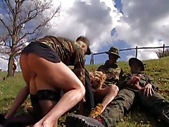 Big Tits Anal Group MILF Gangbang Blonde Anal Sex Big Tits Blonde Blowjob Caucasian Cum Shot Gangbang MILF Oral Sex Outdoor Stockings Uniform Vaginal Sex Alessandra Schiavo