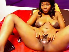 Amateur Black and Ebony Webcams