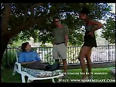 anal cumshot facial black outdoor interracial blowjob threesome ebony blackwoman doublepenetration pussyfucking whiteonblack