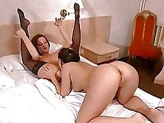 69 Black Lesbian Pussy Licking Stockings