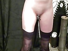 BDSM Gags Lezdom extreme bondage lesbian domination pain and pleasure tit whipping